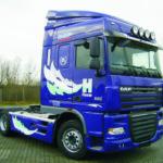 Truckbeschriftung